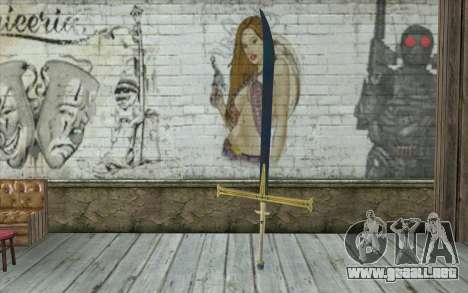 One Piece Black Sword para GTA San Andreas