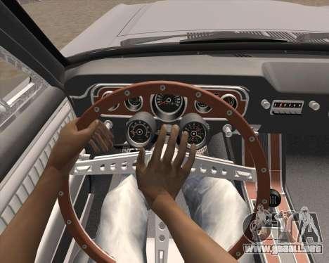 La animación pulsando la señal para GTA San Andreas tercera pantalla