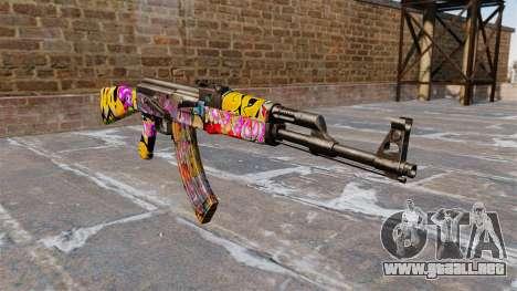 El AK-47 Graffiti para GTA 4