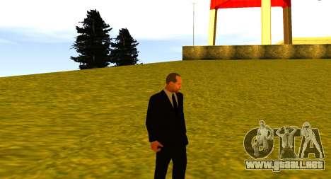 Jason Statham para GTA San Andreas quinta pantalla