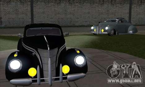 Lincoln Zephyr 1946 para la visión correcta GTA San Andreas