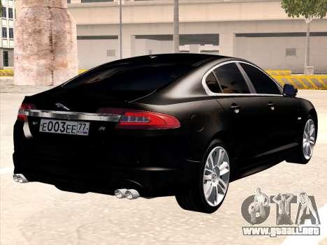 Jaguar XFR para la visión correcta GTA San Andreas
