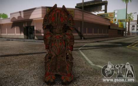 Theron Guard Cloth From Gears of War 3 v1 para GTA San Andreas segunda pantalla
