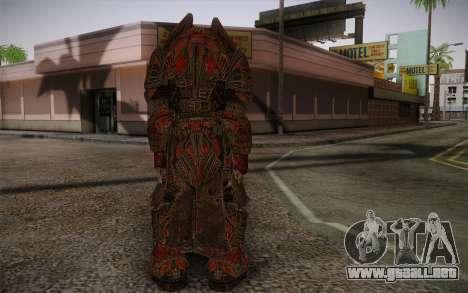 Theron Guard Cloth From Gears of War 3 v1 para GTA San Andreas segunda pantalla