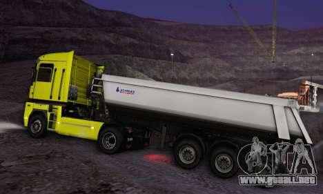 Schmied Bigcargo Solid Stock para GTA San Andreas vista hacia atrás