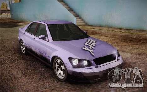 El sultán из GTA 5 para el motor de GTA San Andreas