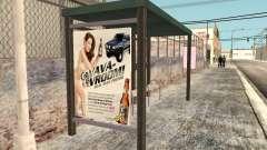 Nueva parada de autobús