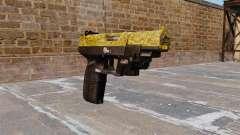 Pistola FN Five seveN de Oro LAM para GTA 4