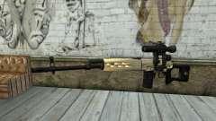 Rifle de Francotirador SVD para GTA San Andreas