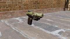 Pistola FN Five seveN LAM Verde Camo para GTA 4