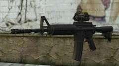 Ricks M4A1 from The Walking Dead S3 para GTA San Andreas