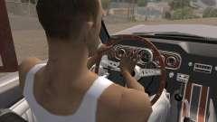 La animación pulsando la señal para GTA San Andreas