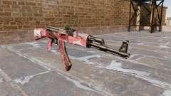 El AK-47 urbana Rojo para GTA 4