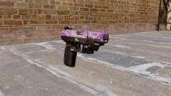 Pistola FN Five seveN LAM Púrpura Camo