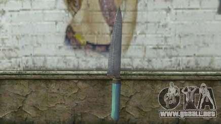 El viejo cuchillo de cocina para GTA San Andreas