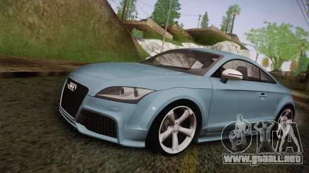 Audi TT RS 2011 para GTA San Andreas