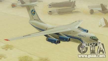 Il-76T AVAST para GTA San Andreas