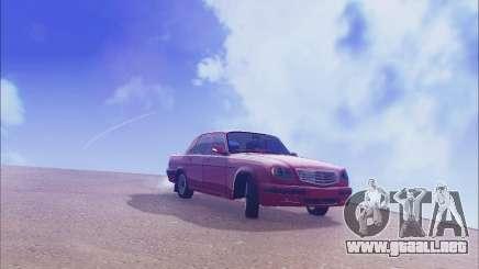 GAZ 31105 Sintonizable para GTA San Andreas