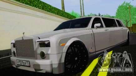Rolls-Royce Phantom Limo para GTA San Andreas