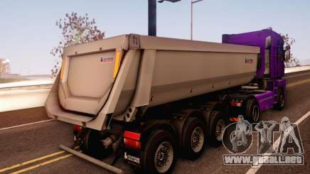 Schmied Bigcargo Solid Stock para GTA San Andreas