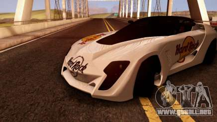 Bertone Mantide 2010 Hard Rock Cafe para GTA San Andreas