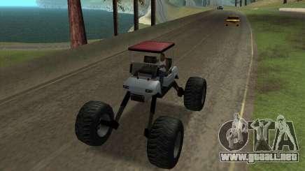 Caddy Monster Truck para GTA San Andreas