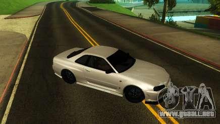 Nissan Skyline R34 V-Spec para GTA San Andreas