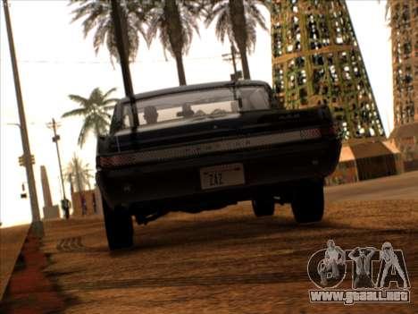 Lime ENB v1.1 para GTA San Andreas sucesivamente de pantalla