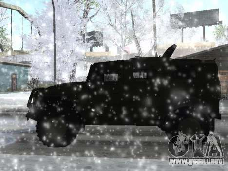 GAS 2975 Tigre para GTA San Andreas left