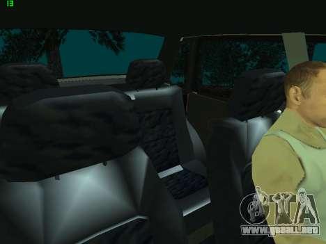 VAZ 21099 para la vista superior GTA San Andreas