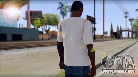 Pink Panther T-Shirt Mod para GTA San Andreas segunda pantalla