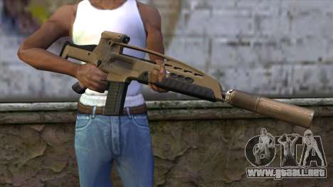 XM8 Assault Dust para GTA San Andreas tercera pantalla