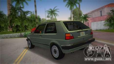 Volkswagen Golf II 1991 para GTA Vice City left