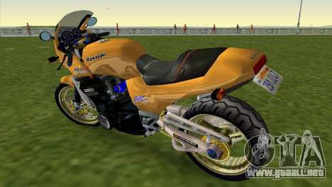 Kawasaki GPZ900R Ninja Tuned para GTA Vice City left