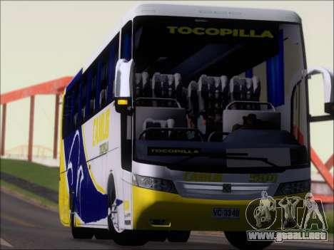 Busscar Vissta Buss LO Mercedes Benz 0-500RS para la vista superior GTA San Andreas