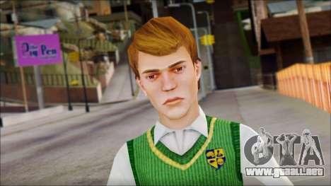 Earnest from Bully Scholarship Edition para GTA San Andreas