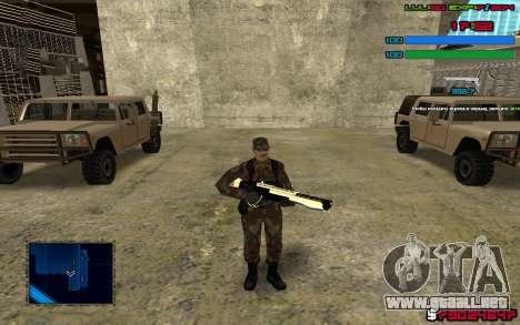 C-HUD by SampHack v.7 para GTA San Andreas tercera pantalla