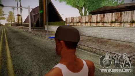 Storm Freerun Cap para GTA San Andreas segunda pantalla