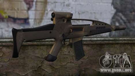 XM8 Assault Dust para GTA San Andreas segunda pantalla