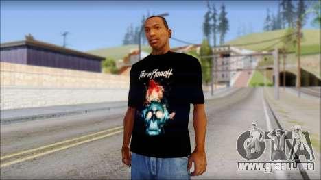 Papa Roach The Connection Fan T-Shirt para GTA San Andreas