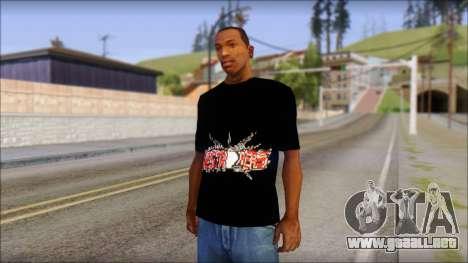 Destroyers T-Shirt Mod para GTA San Andreas