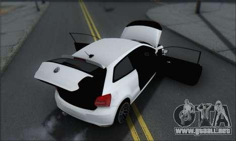 Volkswagen Polo para GTA San Andreas interior