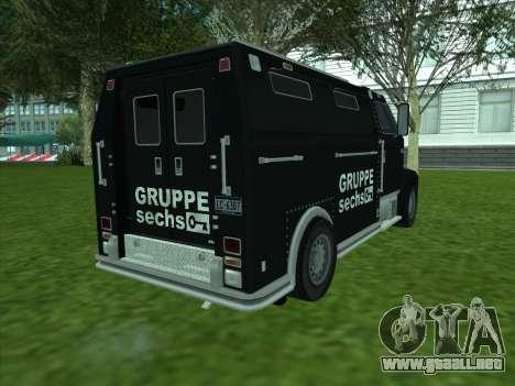 Securicar из GTA 3 para la visión correcta GTA San Andreas