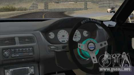 Toyota Chaser Tourer Stock v1 1999 para GTA San Andreas vista posterior izquierda