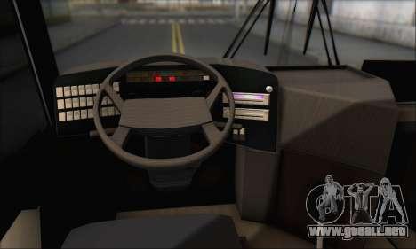 Sada Bahar Coach para la vista superior GTA San Andreas
