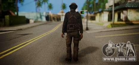 John Price para GTA San Andreas segunda pantalla