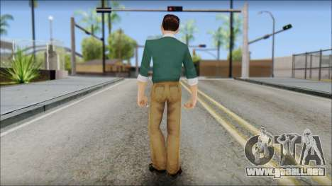Constantinos from Bully Scholarship Edition para GTA San Andreas tercera pantalla
