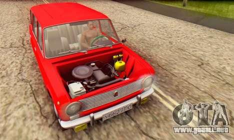 VAZ 2102 Escorrentía para GTA San Andreas interior