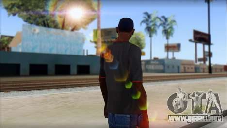 I love my gun T-Shirt para GTA San Andreas segunda pantalla