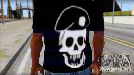 The Expendables Fan T-Shirt v1 para GTA San Andreas tercera pantalla